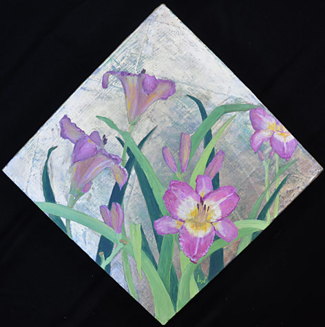 Violet Day Lilies