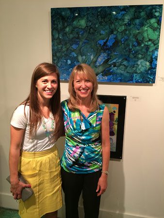 Juried show at Ciel Gallery in Charlotte.
